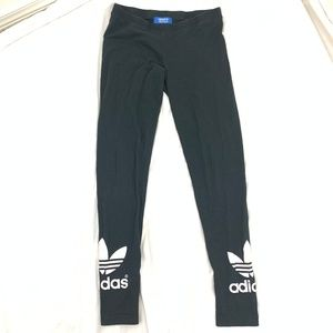 Adidas Black Yoga - Runner Leggings S
